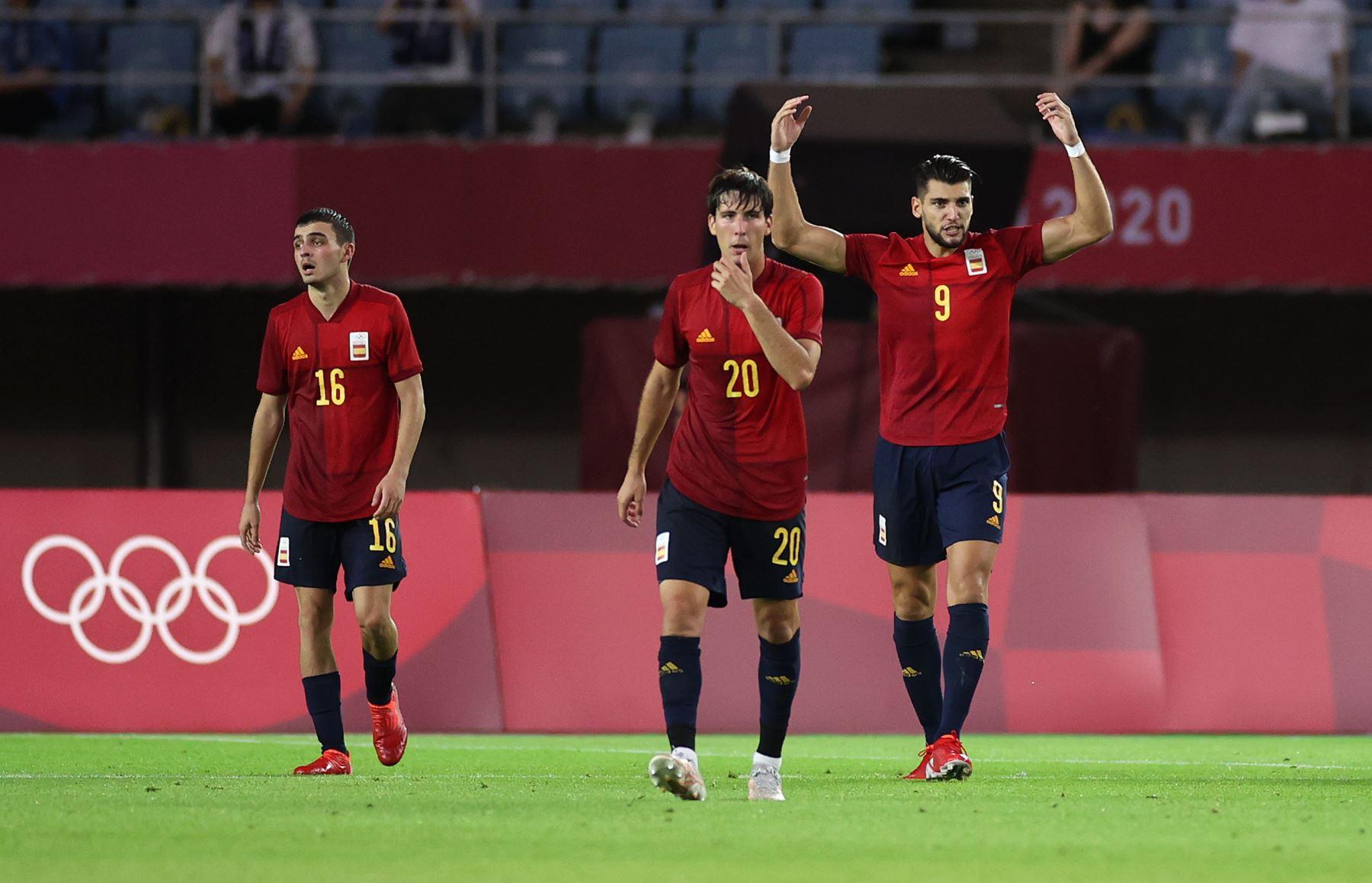 Rafa Mir lideró a España a las semifinales del fútbol masculino en Tokio 2020