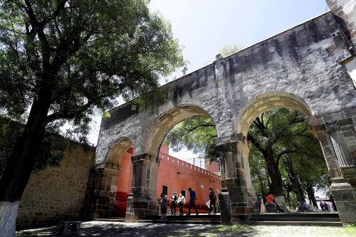 Catedral de Tlaxcala, un monumento del siglo XVI distinguido por la Unesco. Foto: EFE