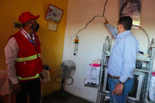 Ministros inspeccionaron la situación de la región Piura tras el sismo