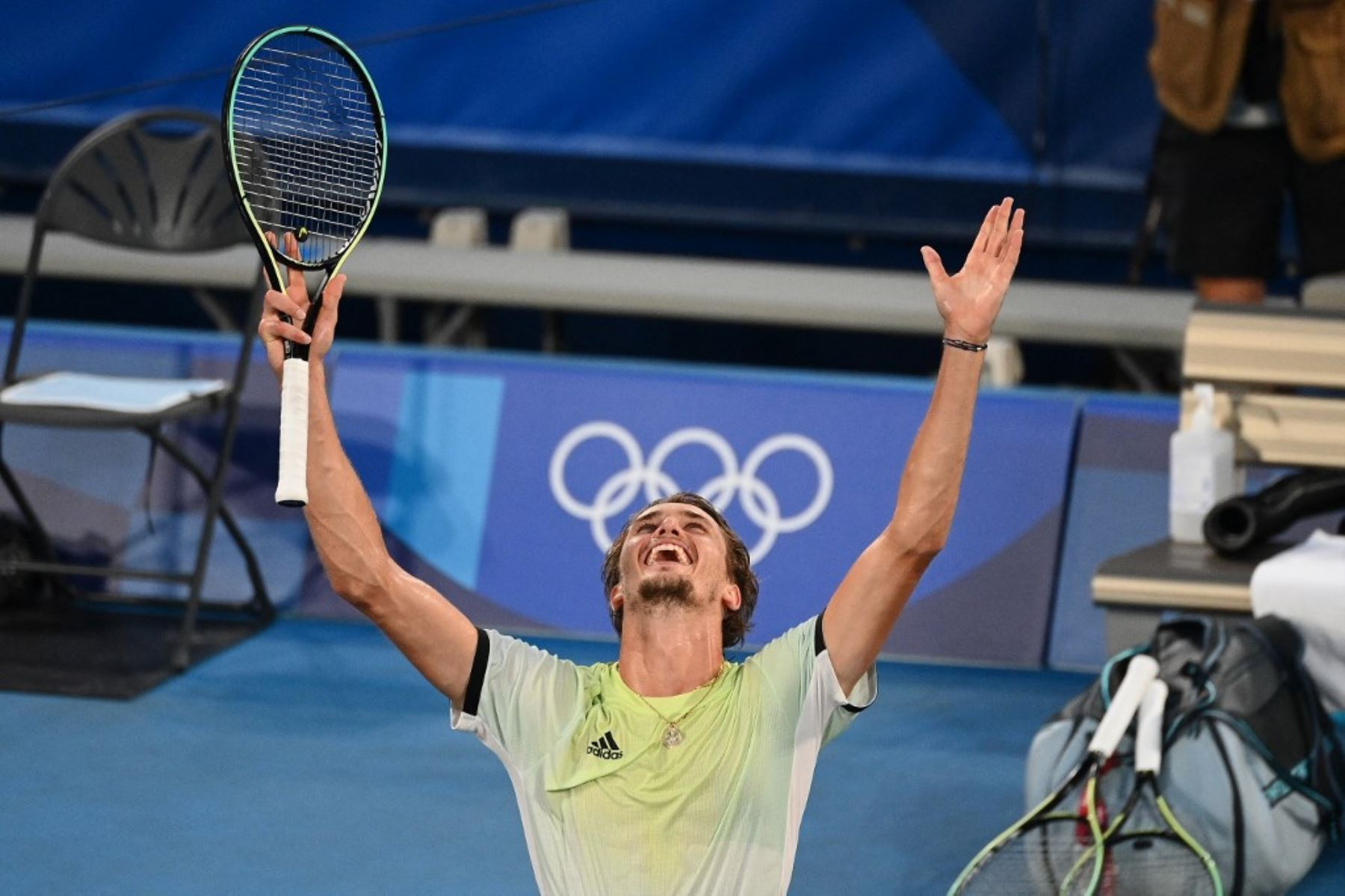 Alexander Zverev se consagra campeón olímpico en tenis