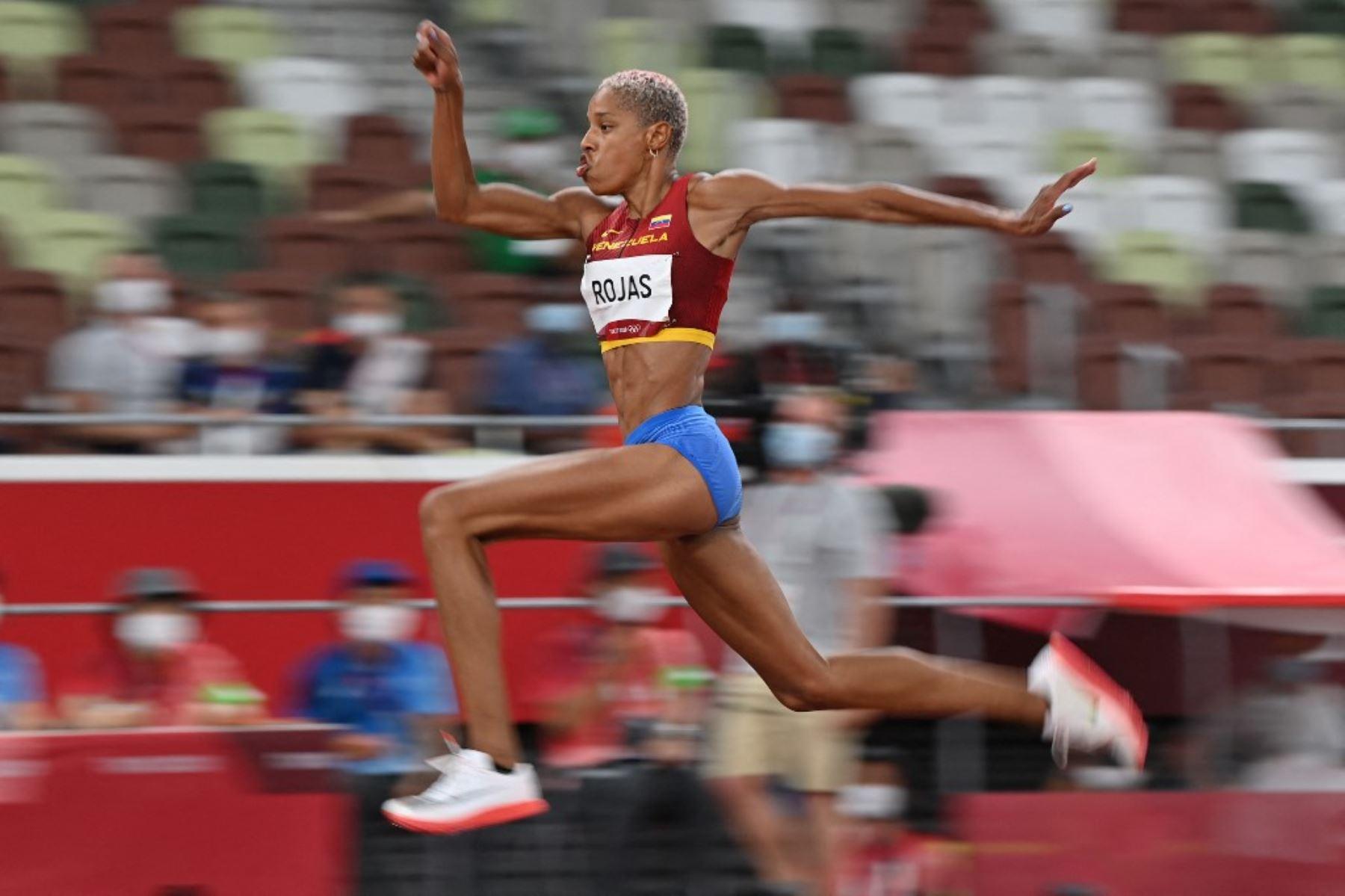Tokio 2020: Venezolana Yulimar Rojas, oro y récord mundial de triple salto  | Noticias | Agencia Peruana de Noticias Andina