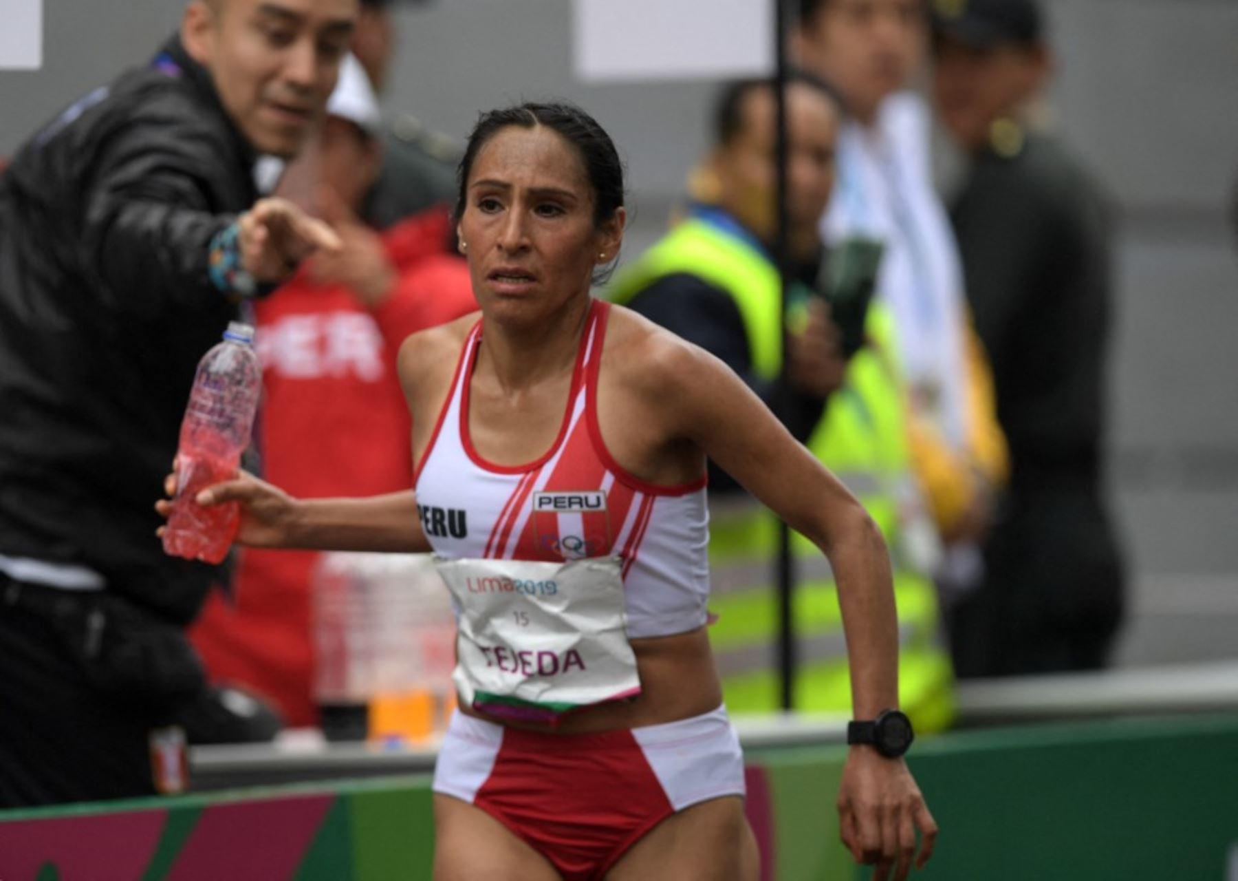 Gladys Tejeda buscará la gloria en Tokio 2020