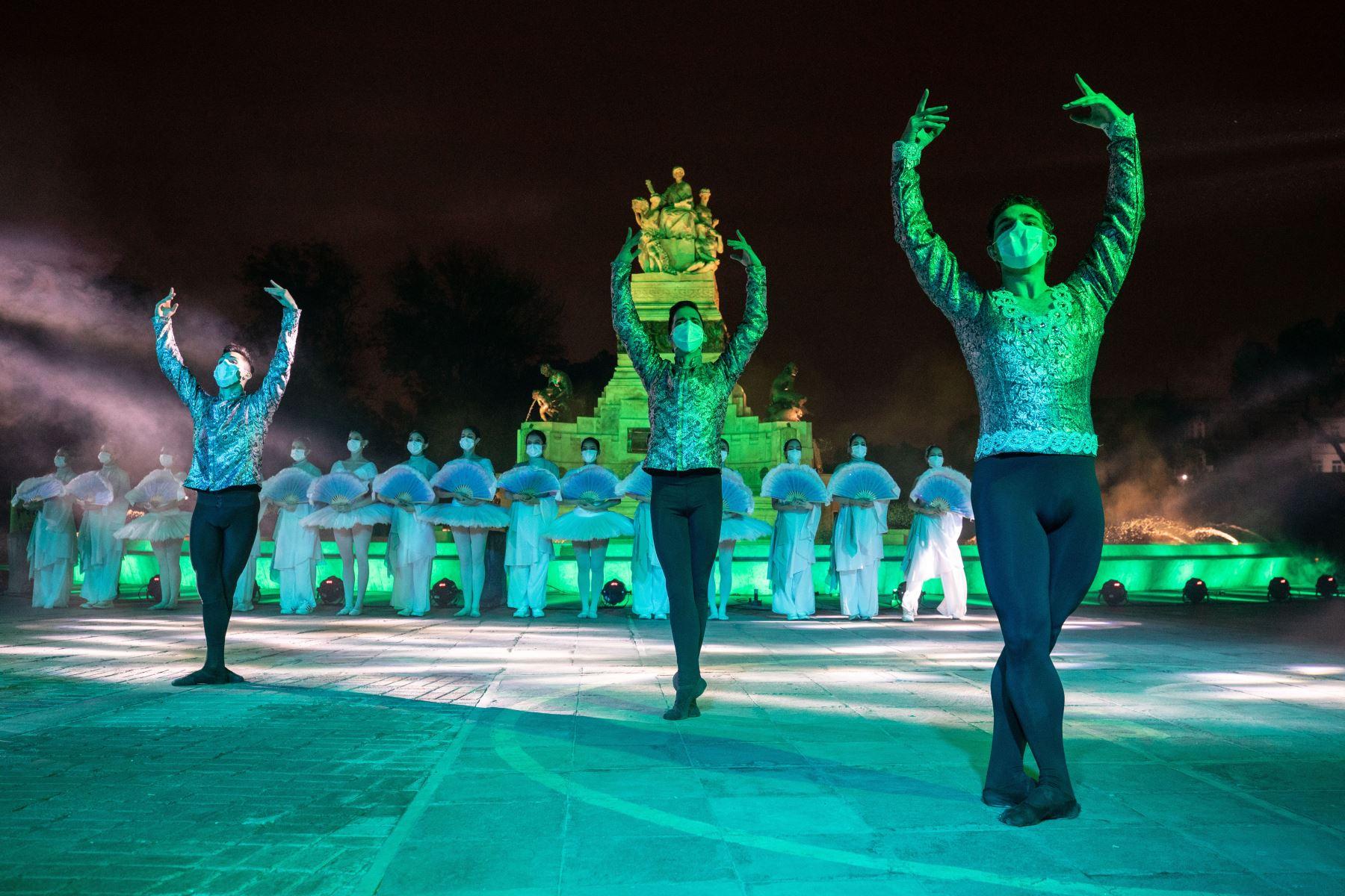 Municipalidad de Lima presentó la renovada Fuente China, la cual tiene 100 años de antigüedad, en el Parque de la Exposición. Foto: MML