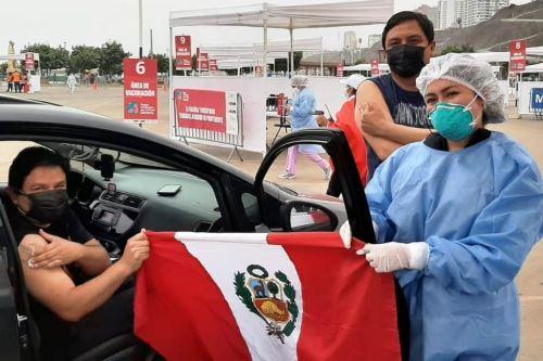 Covid-19: Lima Centro alcanzó los dos millones de dosis aplicadas de la vacuna. Foto: ANDINA/Difusión.