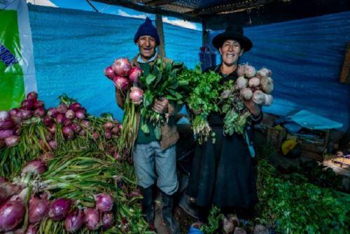 A fin de contribuir con la reactivación económica de productores de la agricultura familiar y el abastecimiento de alimentos aprecios justos, sin intermediarios, se han realizado en todo el país 1,826 Mercados Midagri De la Chacra a la Olla, con la participación de 44, 974 productores. ANDINA/Difusión