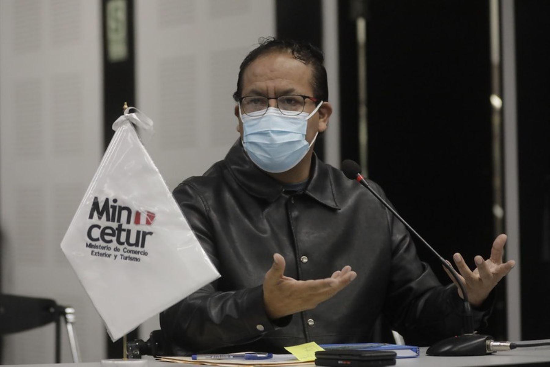 Ministro de Comercio Exterior y Turismo, Roberto Sánchez. Foto: Cortesía.