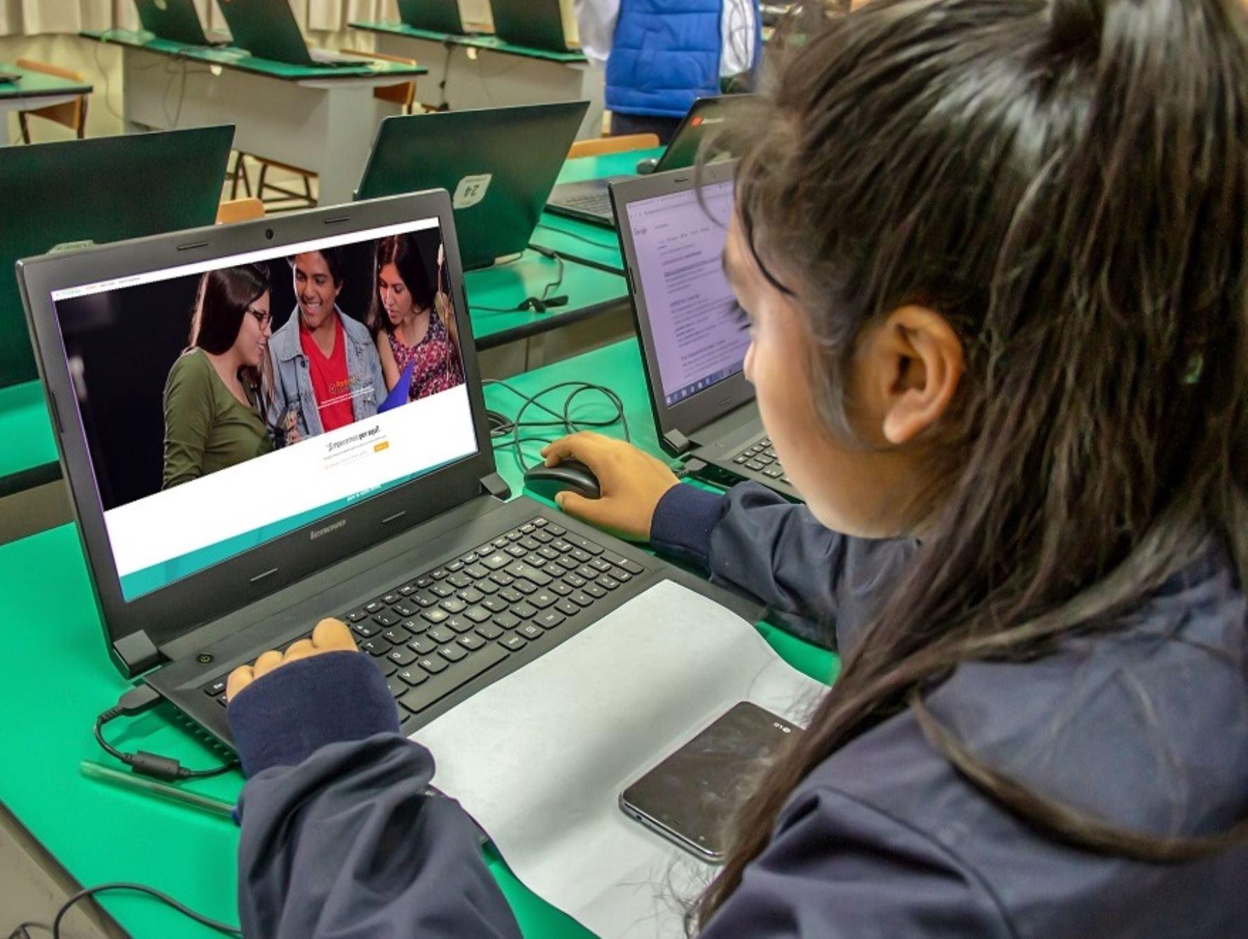 Portal Ponte en Carrera actualiza información. Foto: Minedu/Andina