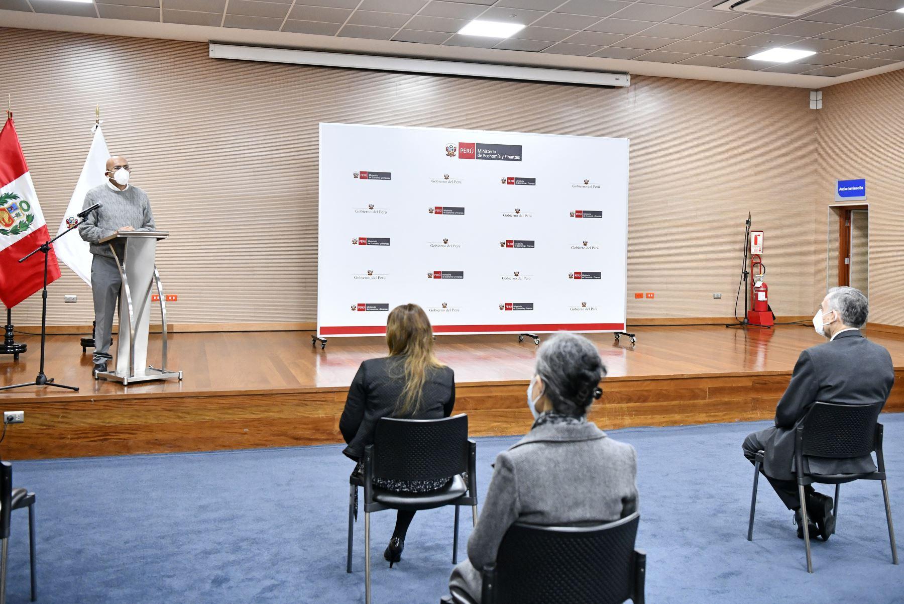 Waldo Mendoza, exministro de Economía y Finanzas. Foto: ANDINA/MEF