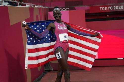 Athing Mu se proclamo campeona olímpica en los 800 metros
