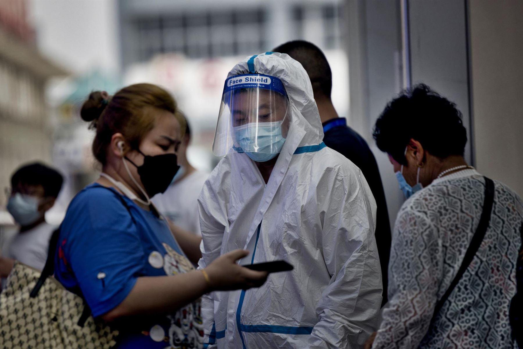 China trata de controlar los peores rebrotes desde el inicio de la pandemia  Foto:AFP