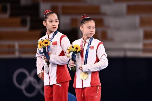 A pocos días de que los Juegos Olímpicos acaben, China sigue en como líder en el medallero