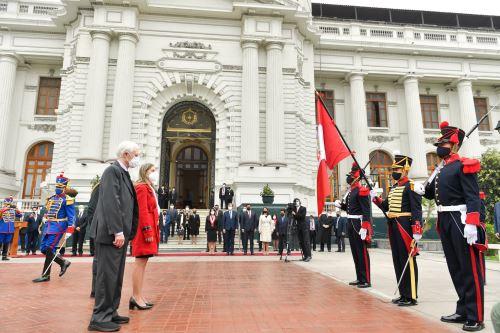 Ceremonia por los 200 años de la Cancillería y el Día del Diplomático en el Congreso de la República