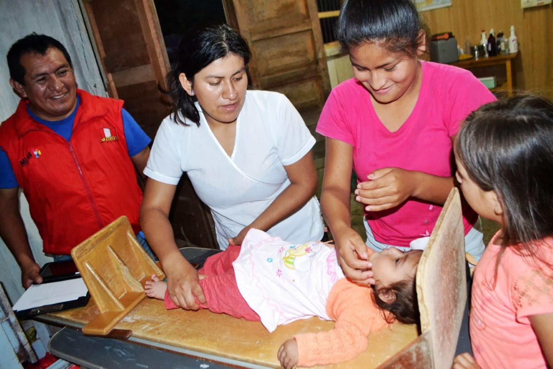 Huánuco: anemia se redujo en 25% en niños menores de 3 años