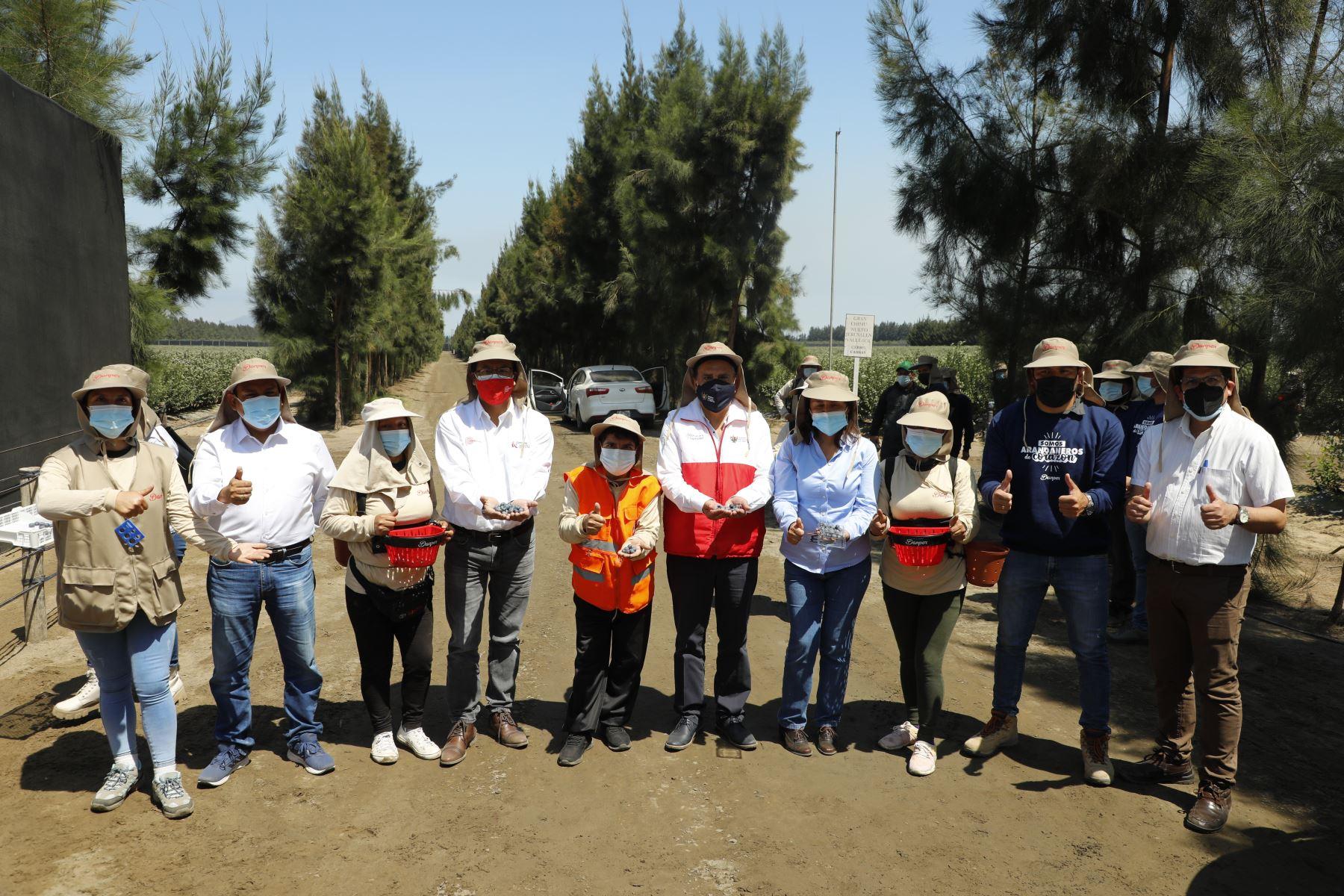 Ministro de Comercio Exterior y Turismo, Roberto Sánchez realiza visita de trabajo a la Región La Libertad. Se reunió con diversos gremios y asociaciones de turismo. Foto: Mincetur