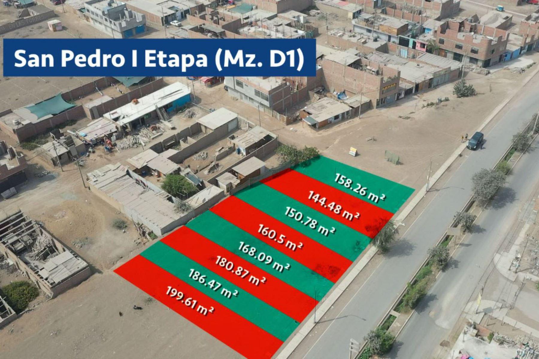 Todos los terrenos poseen zonificación de uso para vivienda o proyectos inmobiliarios. ANDINA/ Municipalidad de Lima