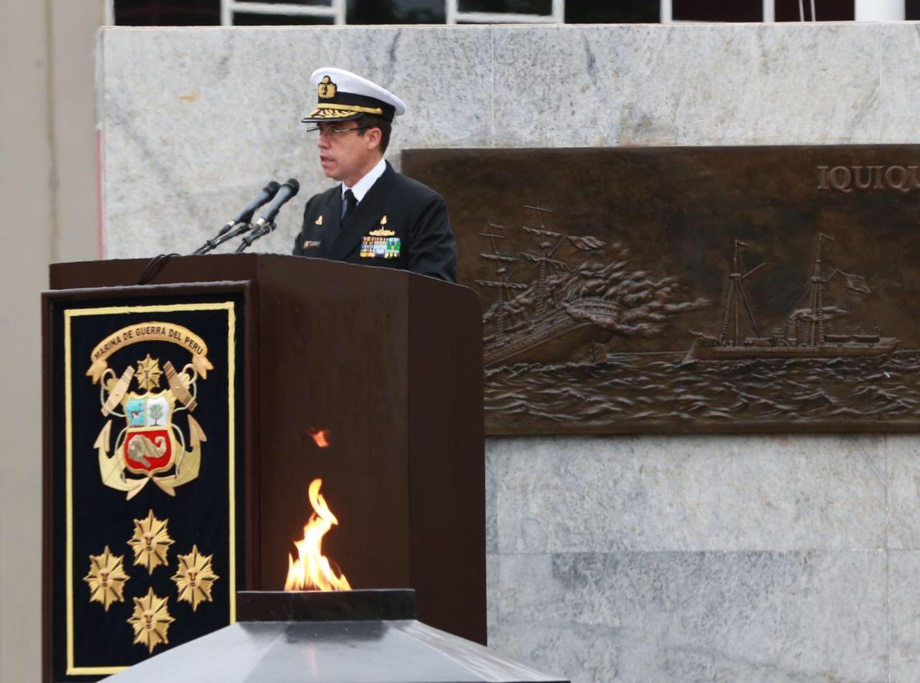 Alberto Alcalá es el nuevo comandante general de la Marina.