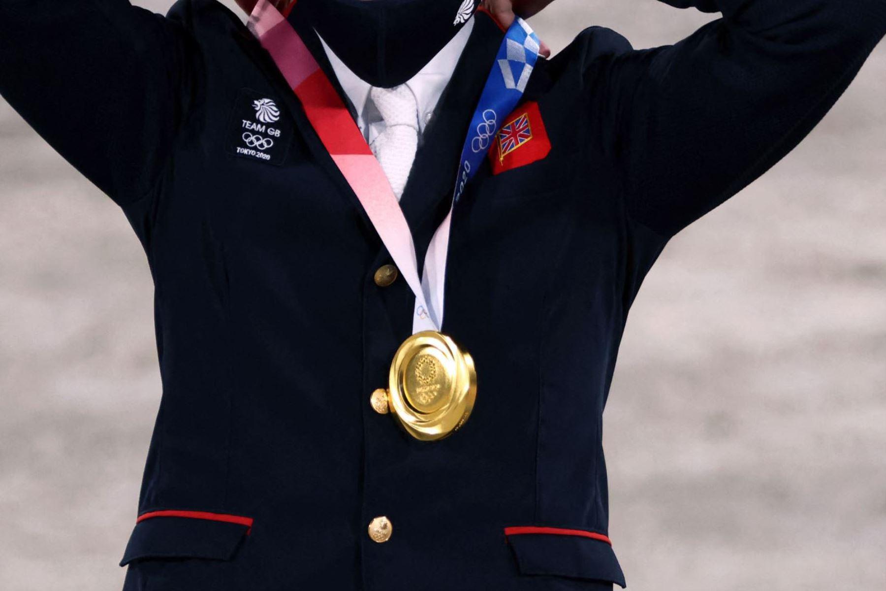El cuadro medallero es liderado por China