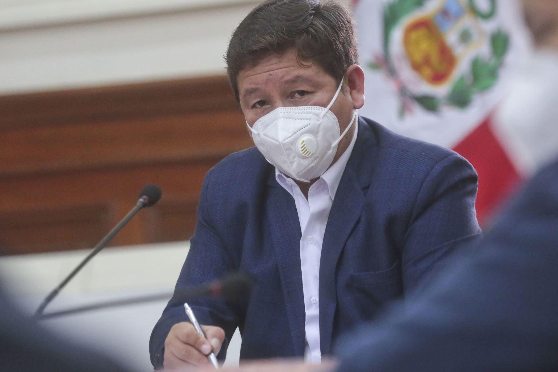 Bellido: impulsaremos un gobierno dialogante y para todos los peruanos