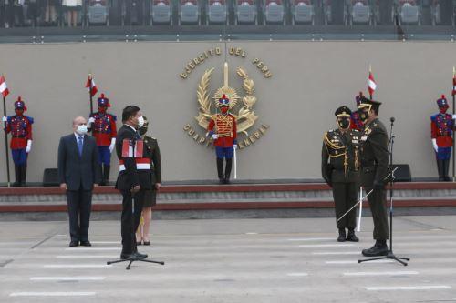 Reconocimiento al nuevo Jefe del Comando Conjunto de las Fuerzas Armadas