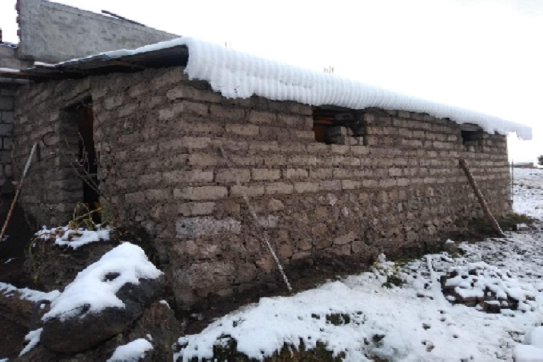La sierra de 16 regiones en alerta desde hoy por caída de nieve, granizo y fuertes lluvias