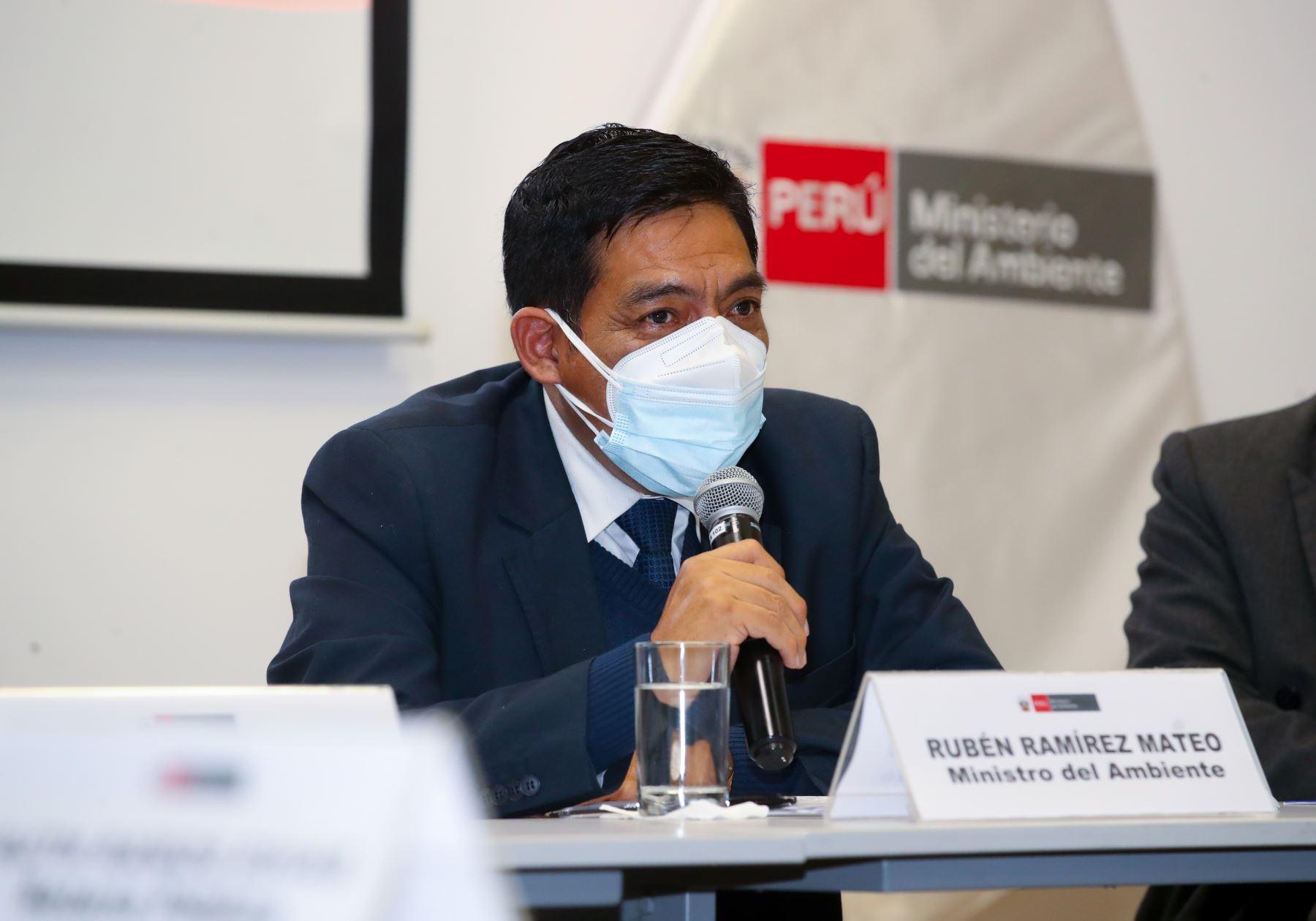 Este es el perfil de Rubén Ramírez Mateo, ratificado ministro del Ambiente