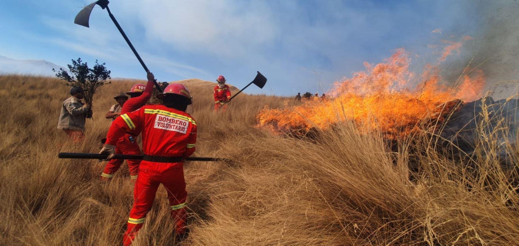 Advierten que temporada de incendios forestales en Perú se prolongará hasta noviembre
