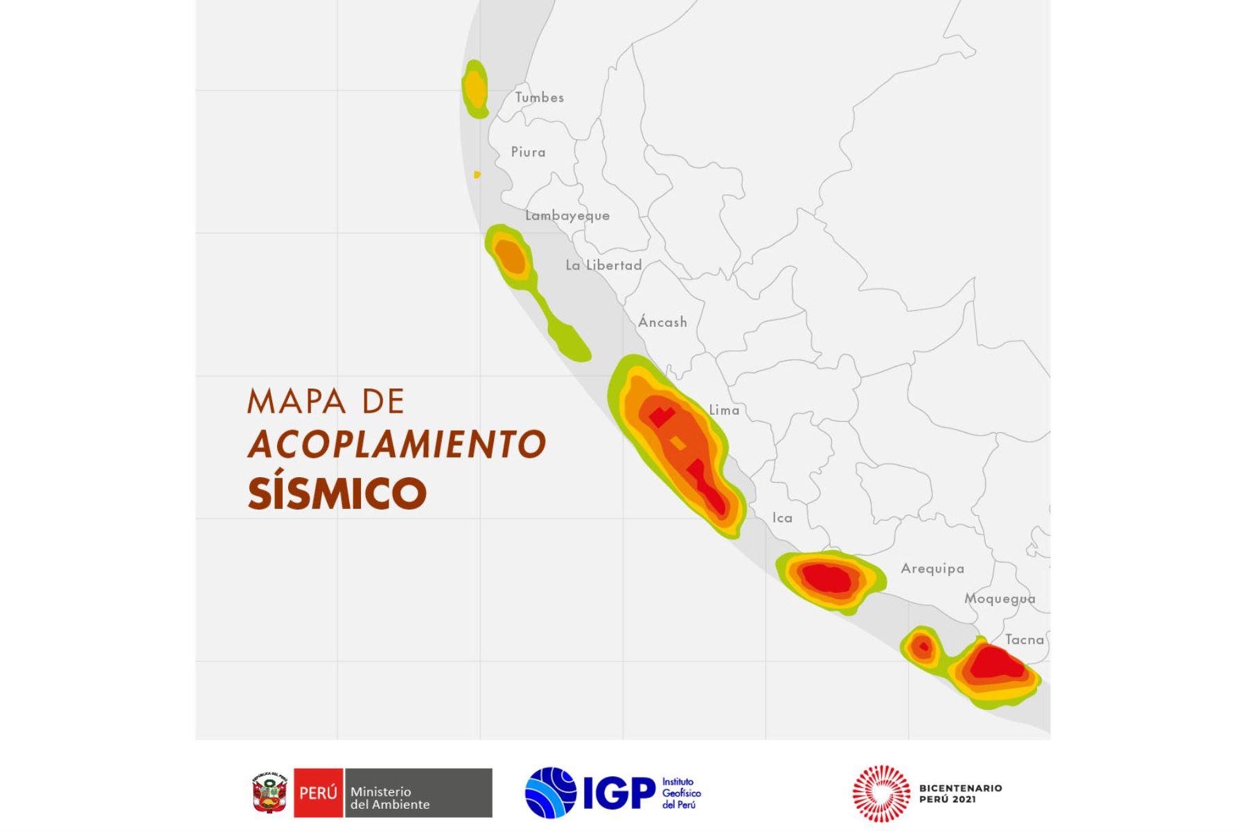 Lima es la zona con mayor acumulación de energía sísmica