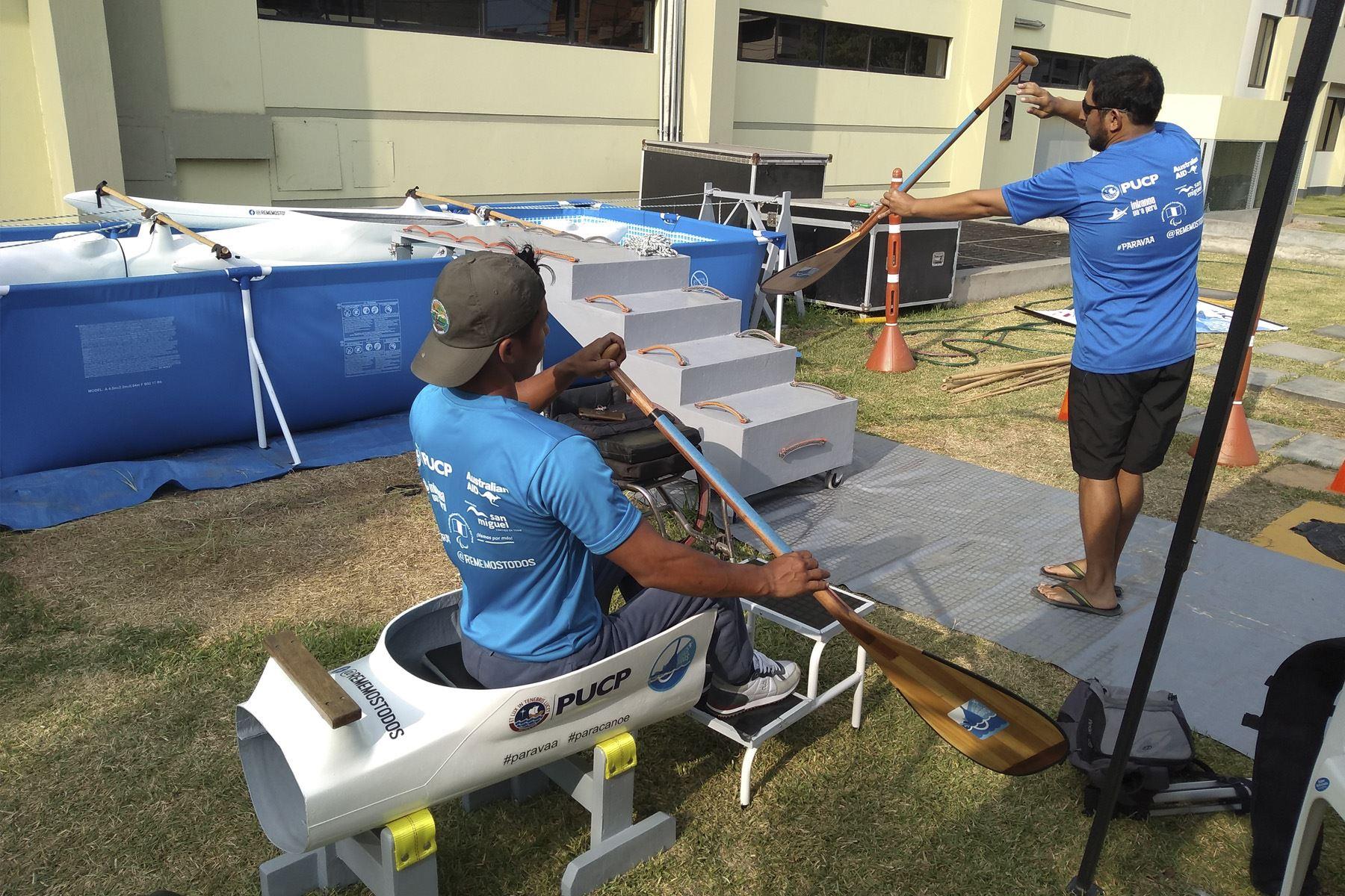 Simulador consta de una piscina, en donde el paradeportista podrá entrenar sus habilidades en una canoa previo a cualquier competencia.