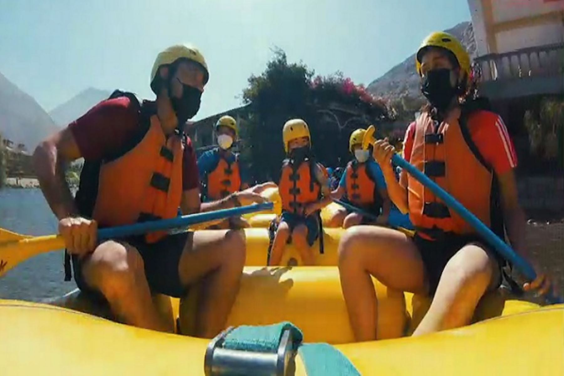 Lunahuaná, lugar ideal para practicar canotaje en el río Cañete todo el año y exponente del turismo de aventura cerca de la ciudad de Lima. Foto: ANDINA/Difusión.