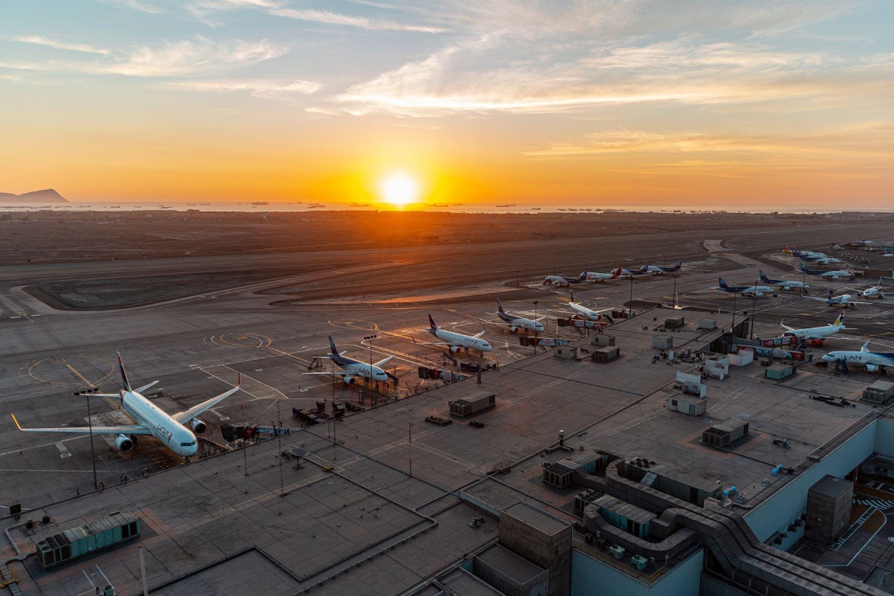 Aeropuerto Internacional Jorge Chávez. Foto: cortesía.