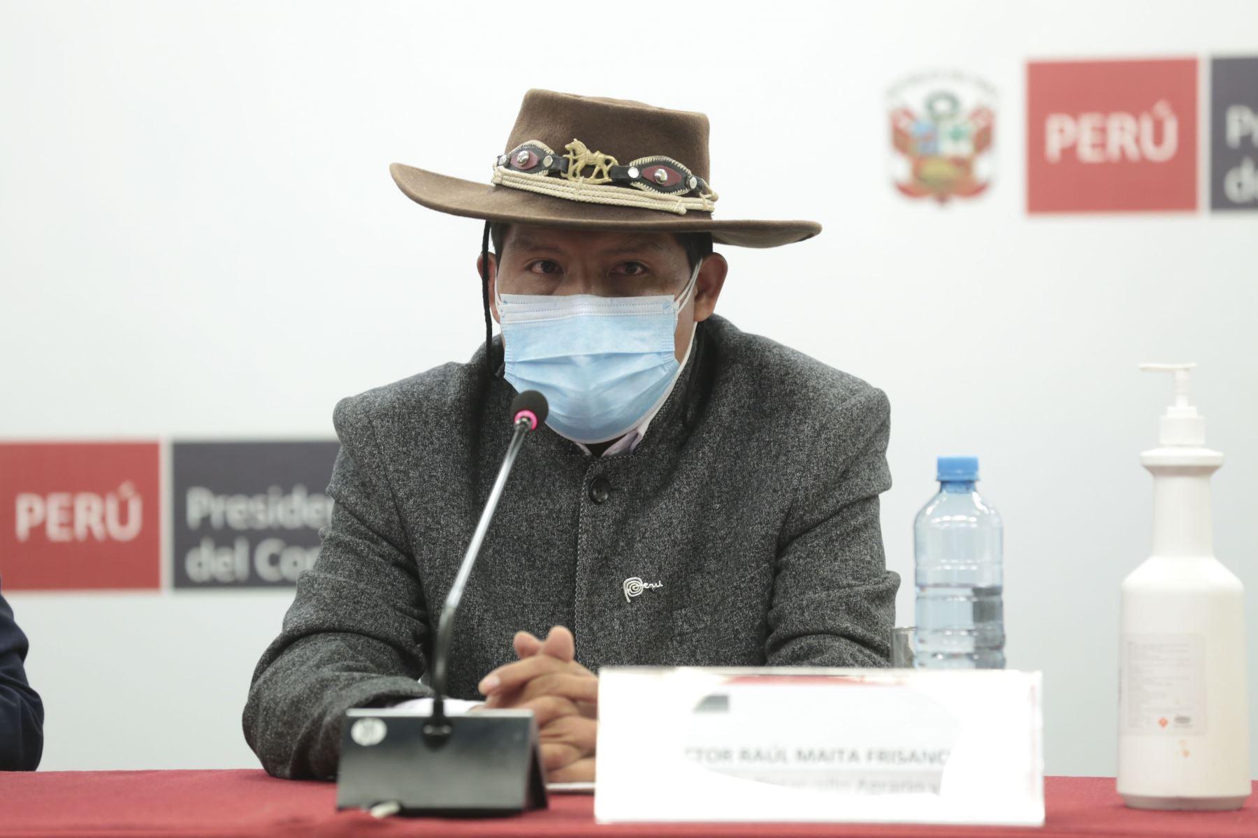 Gobierno lanzará la Segunda Reforma Agraria en Sacsayhuamán este 3 de octubre