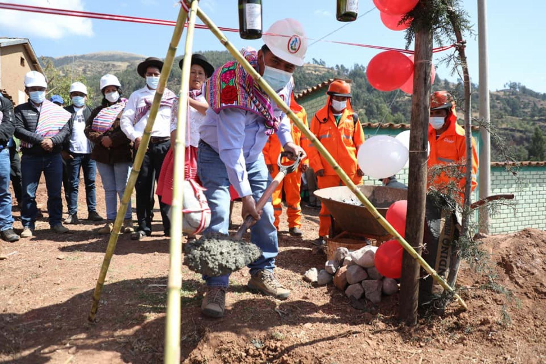 Ayacucho: inician obras de mejoramiento del sistema de riego Negro Puquio en Socos