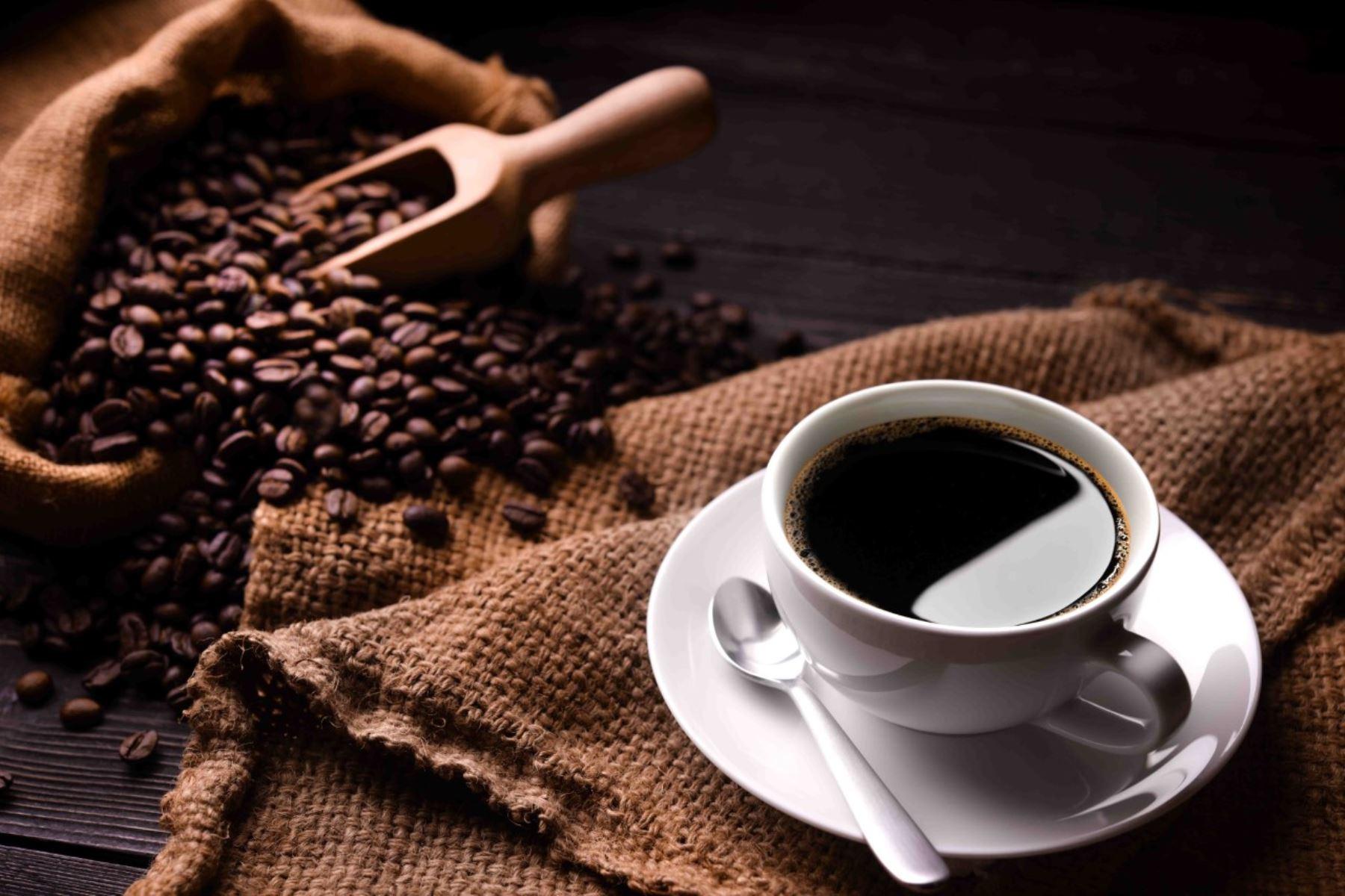 Granos de café tostado. ANDINA/Difusión