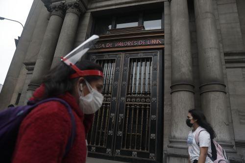Bolsa de Valores de Lima (BVL). Foto: ANDINA/Renato Pajuelo