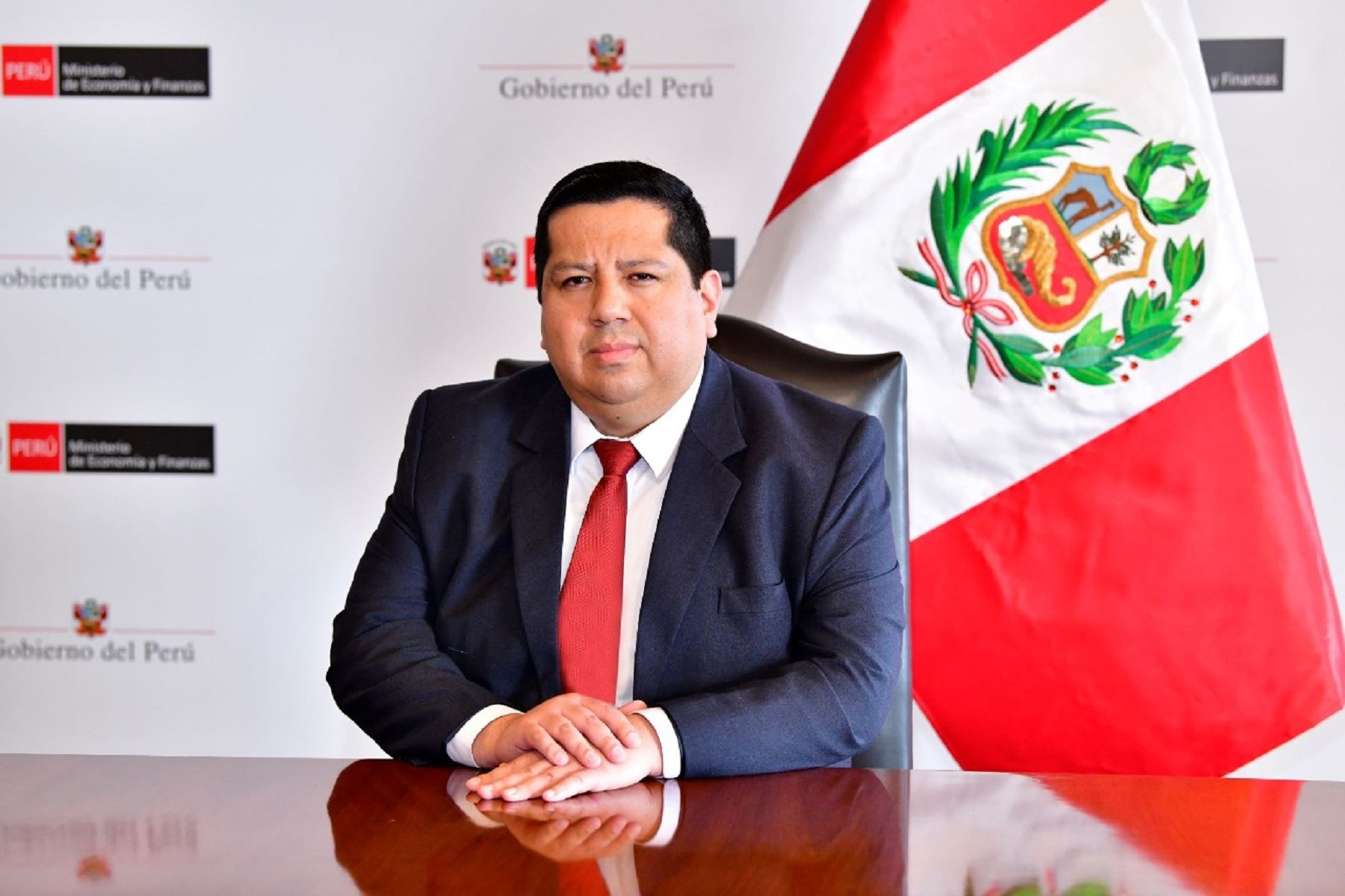 Viceministro de Economía, Alex Contreras Miranda.