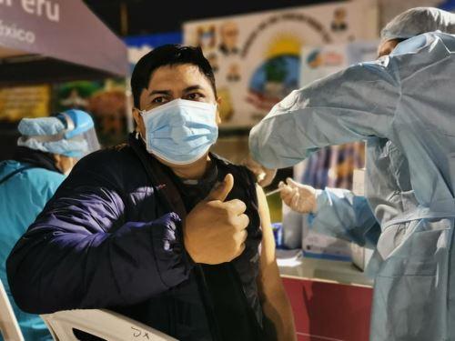 Arequipa programa nueva jornada de vacunación para los rezagados de 18 años a más que no recibieron la primera dosis de la vacuna contra el covid-19. ANDINA/Difusión