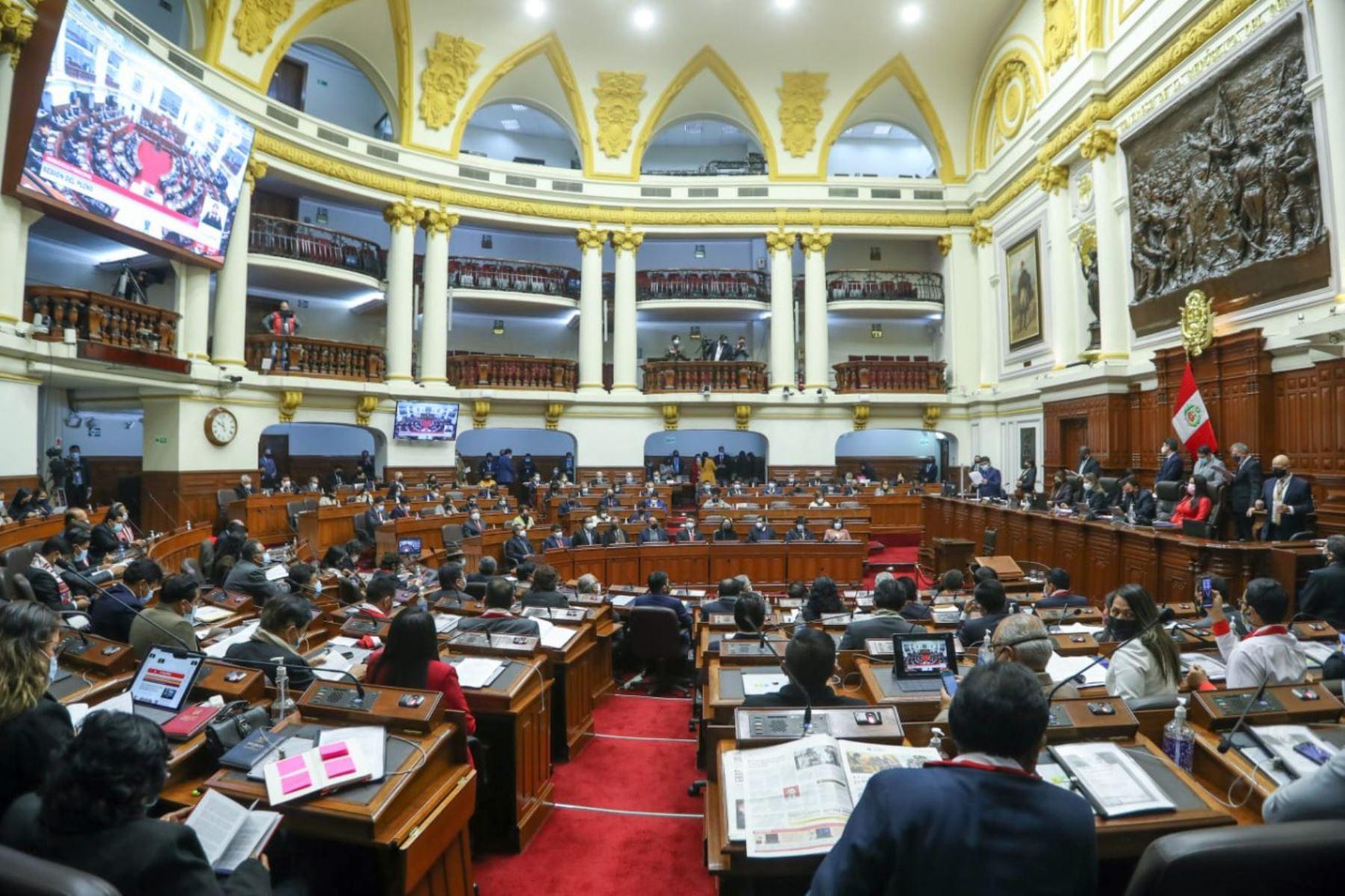 Pleno del Congreso comenzará a las 10.00 horas