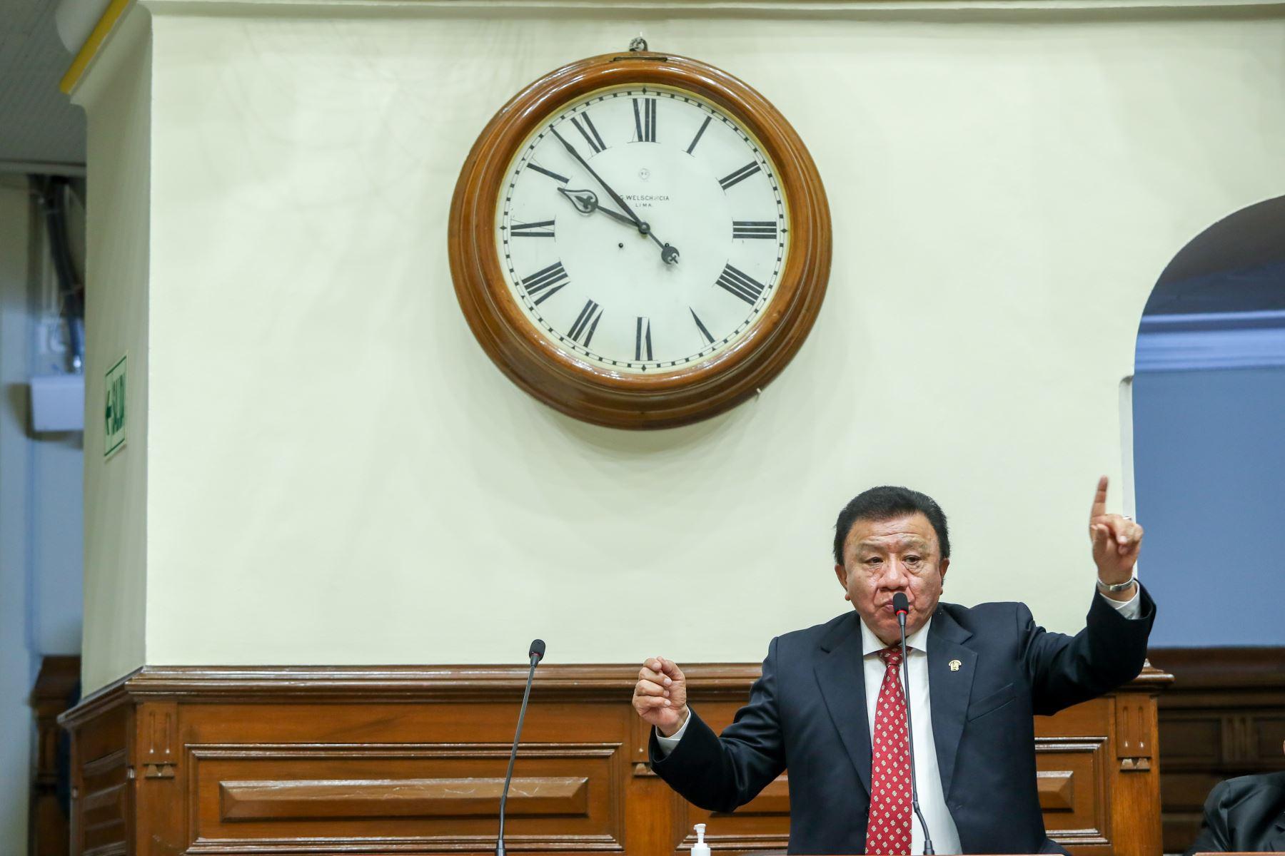 Vicepresidente del Congreso pide a bancadas dejar de lado polarización