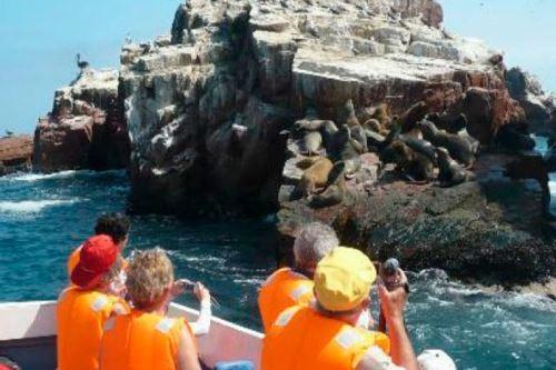 Turismo en Paracas. Foto: ANDINA/Difusión.
