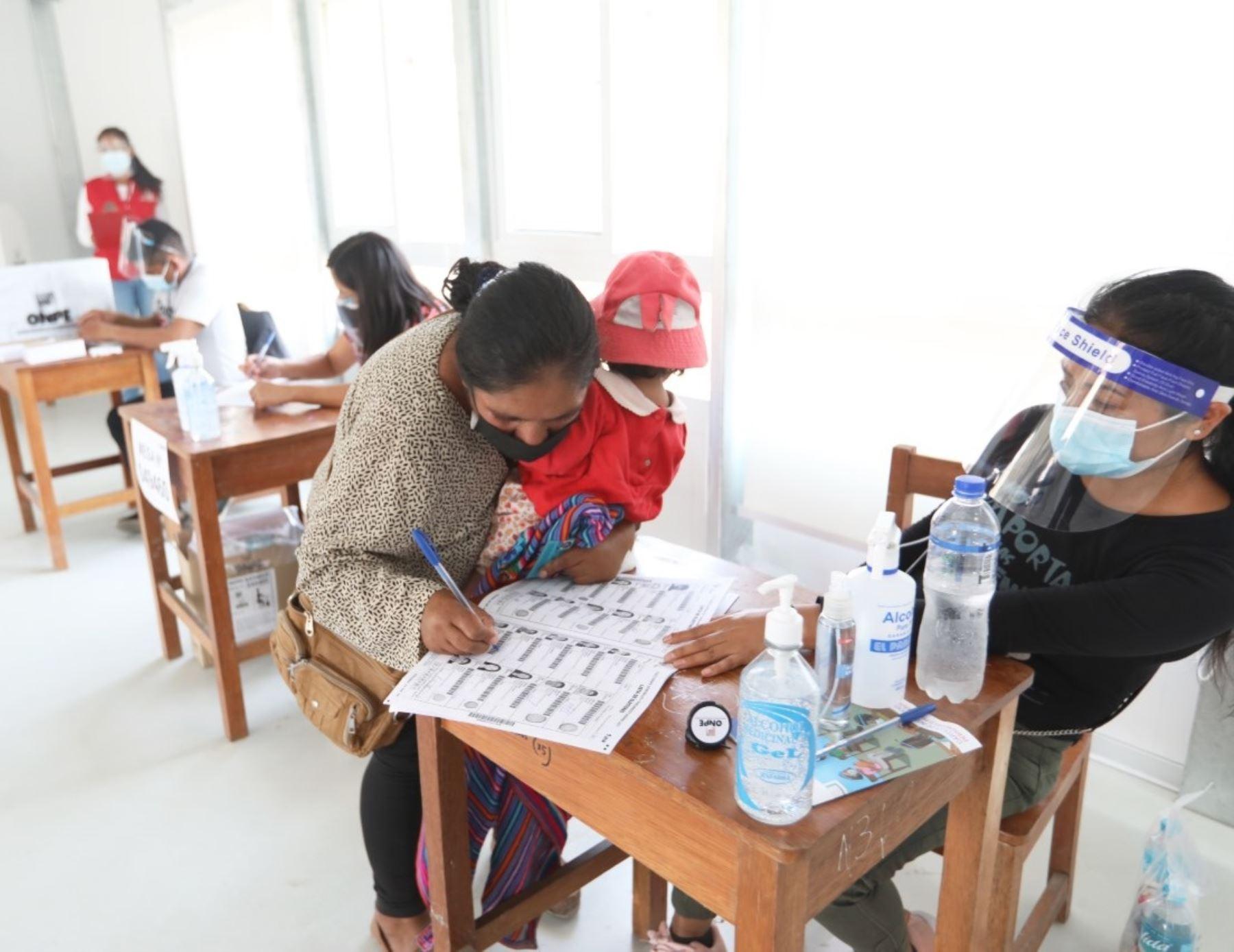 ONPE: Más de 26,000 peruanos ejercerán derecho de control ciudadano este domingo
