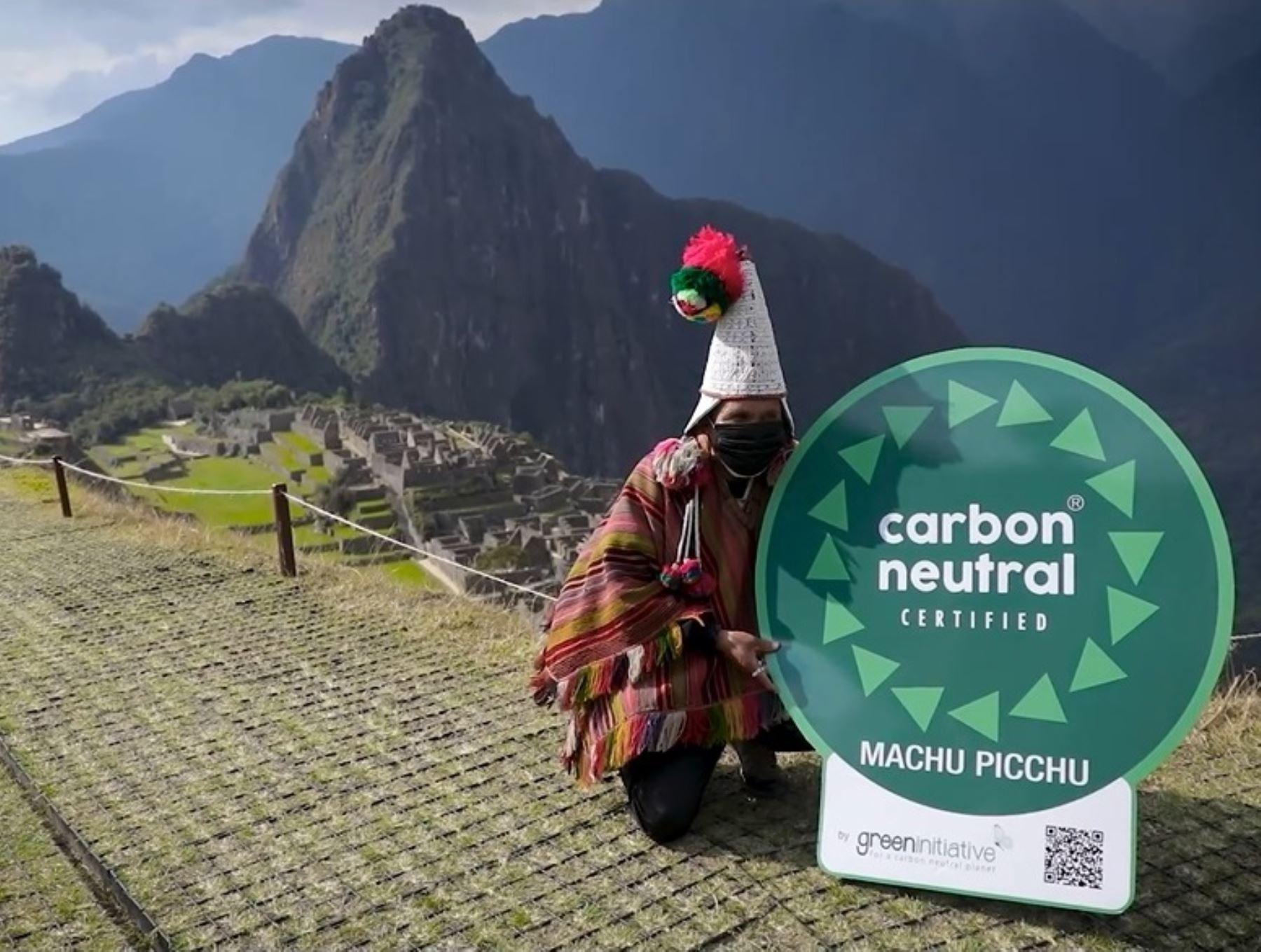 Machu Picchu: por estas razones es el primer destino turístico Carbono Neutral del mundo | Noticias | Agencia Peruana de Noticias Andina
