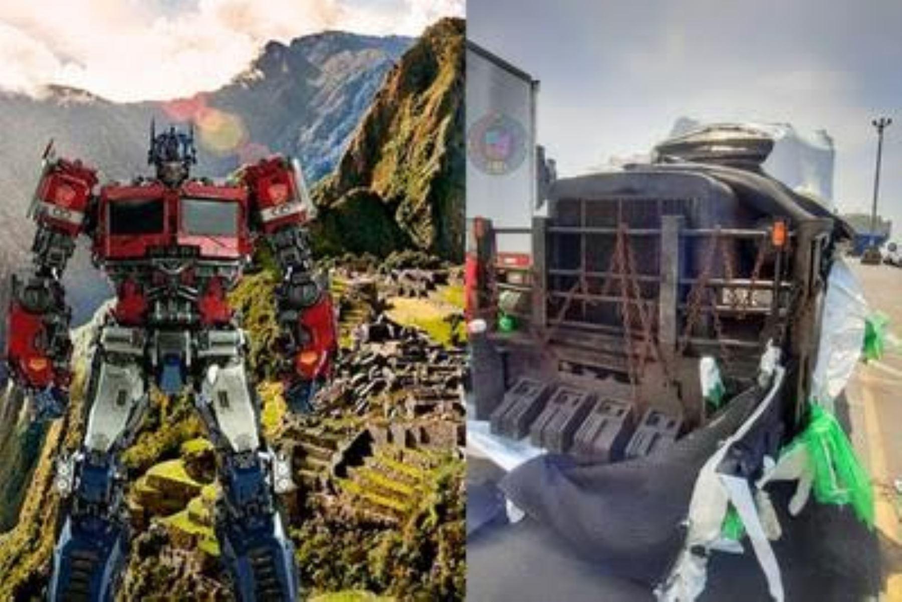 """La ciudadela de Machu Picchu estará protegida de daños durante los cuatro días de rodaje de la película """"Transformers, el despertar de las bestias"""". Foto: ANDINA/Difusión"""