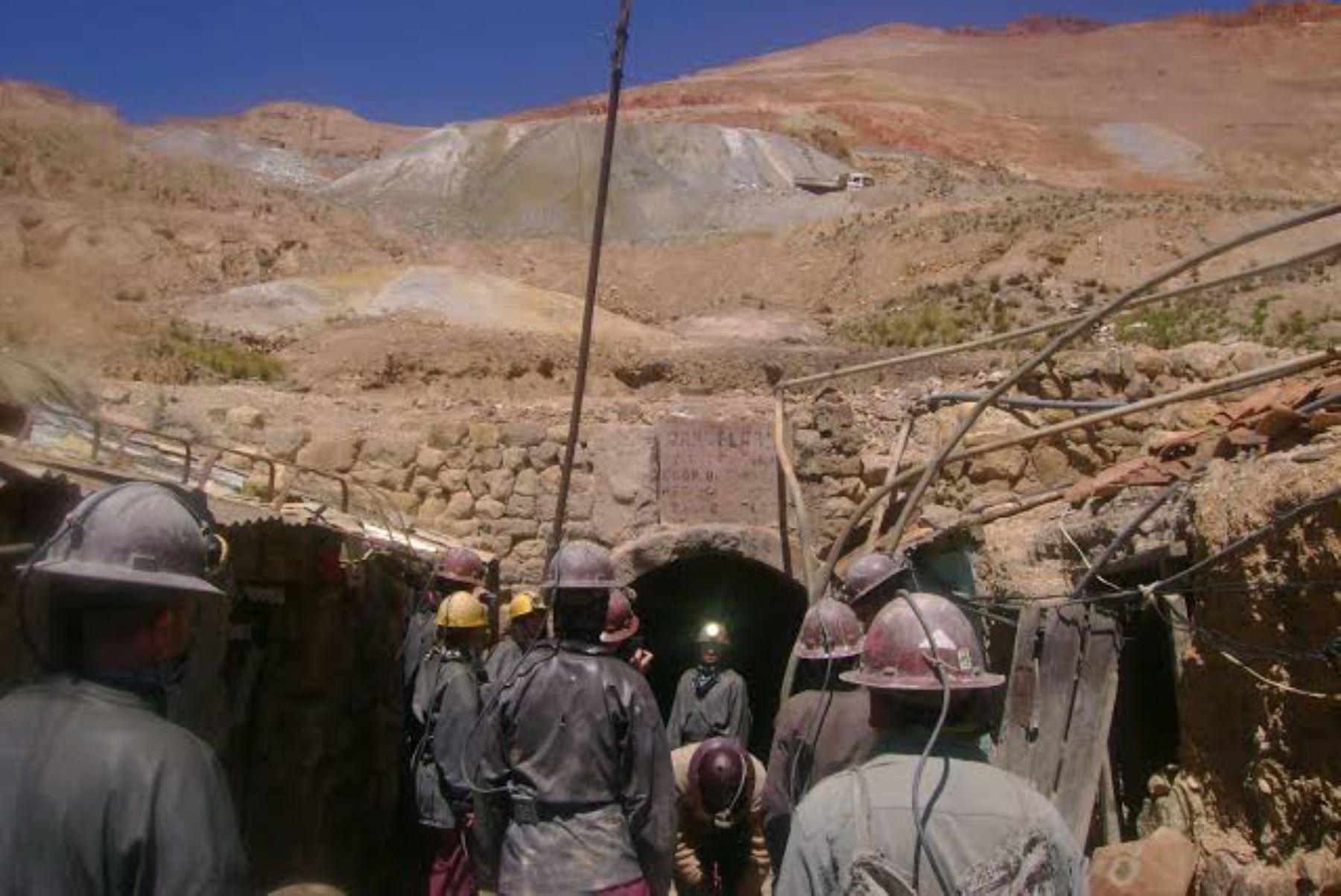 Mina Cerro Rico en Potosí ,Bolivia. INTERNET/Medios