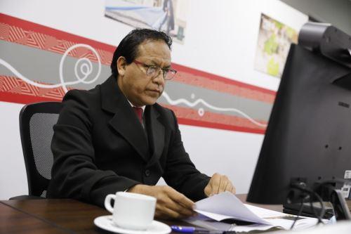 Ministro de Comercio Exterior y Turismo, Roberto Sánchez. Cortesía Mincetur