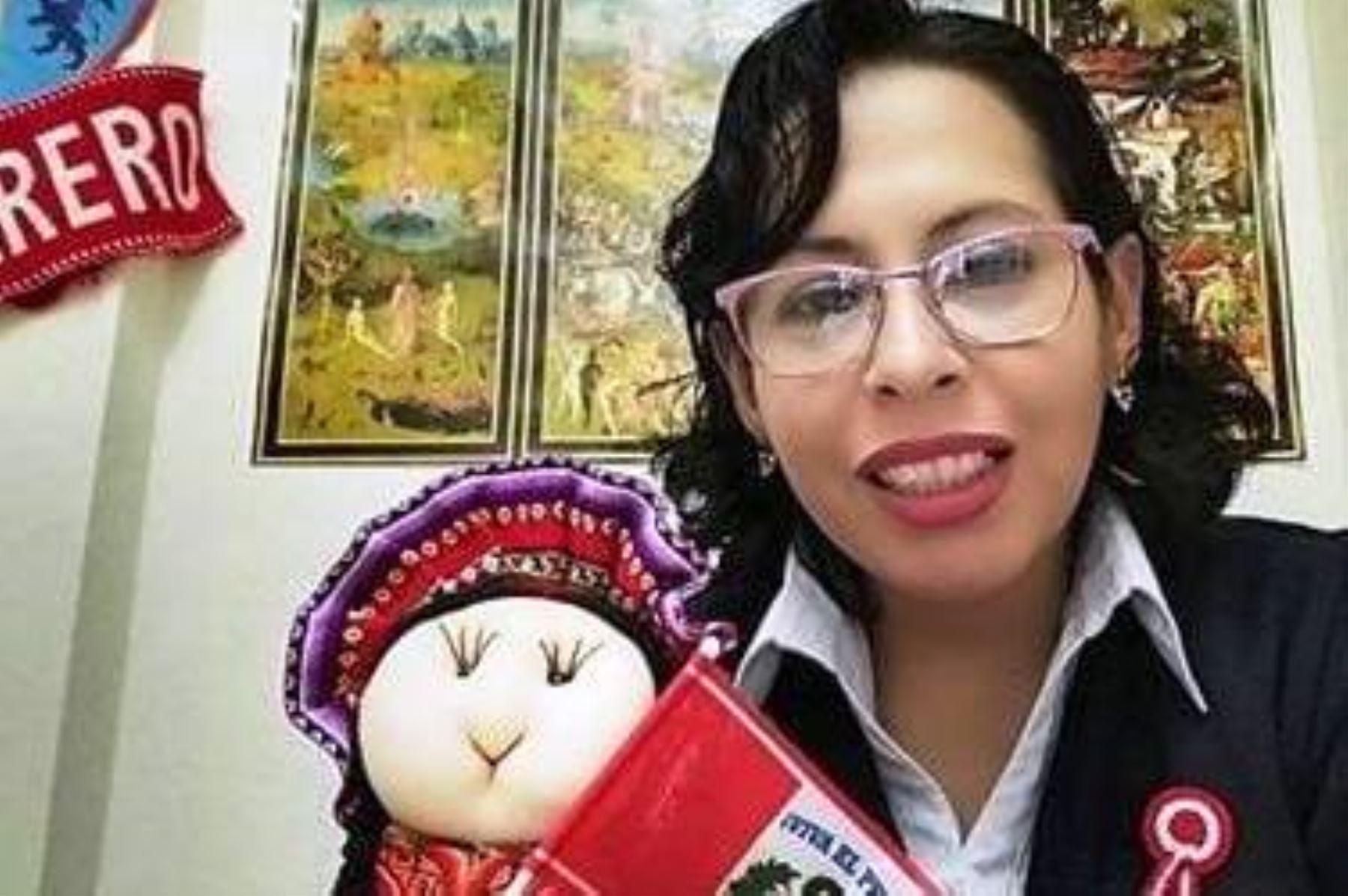 La maestra peruana Aleida Leyva fue considerada entre los 50 mejores profesores del mundo por la organización Global Teacher Prize. Foto: ANDINA/difusión.