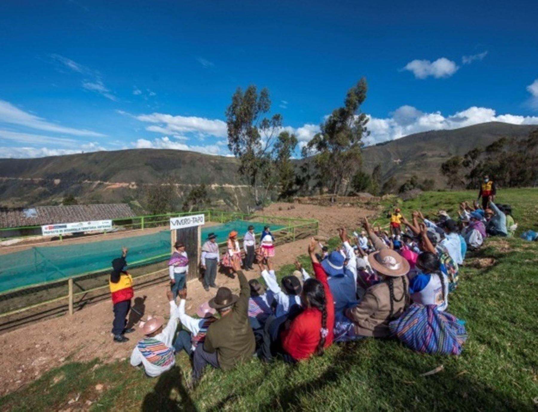 Agro Rural lanza concurso de servicios de extensión agraria rural en 11 regiones del país que tiene como objetivo beneficiar a más de 8,000 productores que se dedican a la agricultura familiar. ANDINA/Difusión