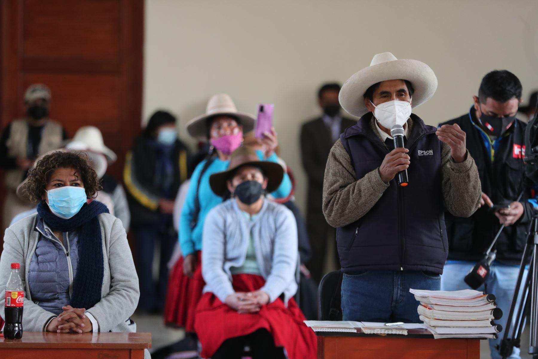 Cusco: exhortan a comunidades campesinas de Espinar a mantener la paz y el diálogo