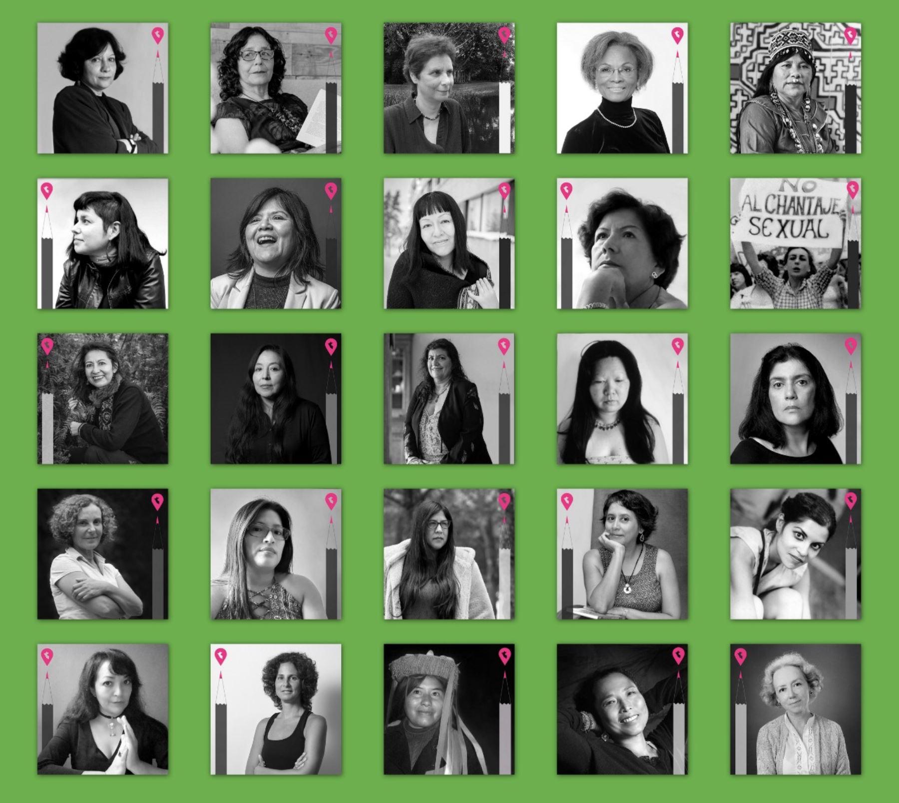 Escritoras peruanas en línea.