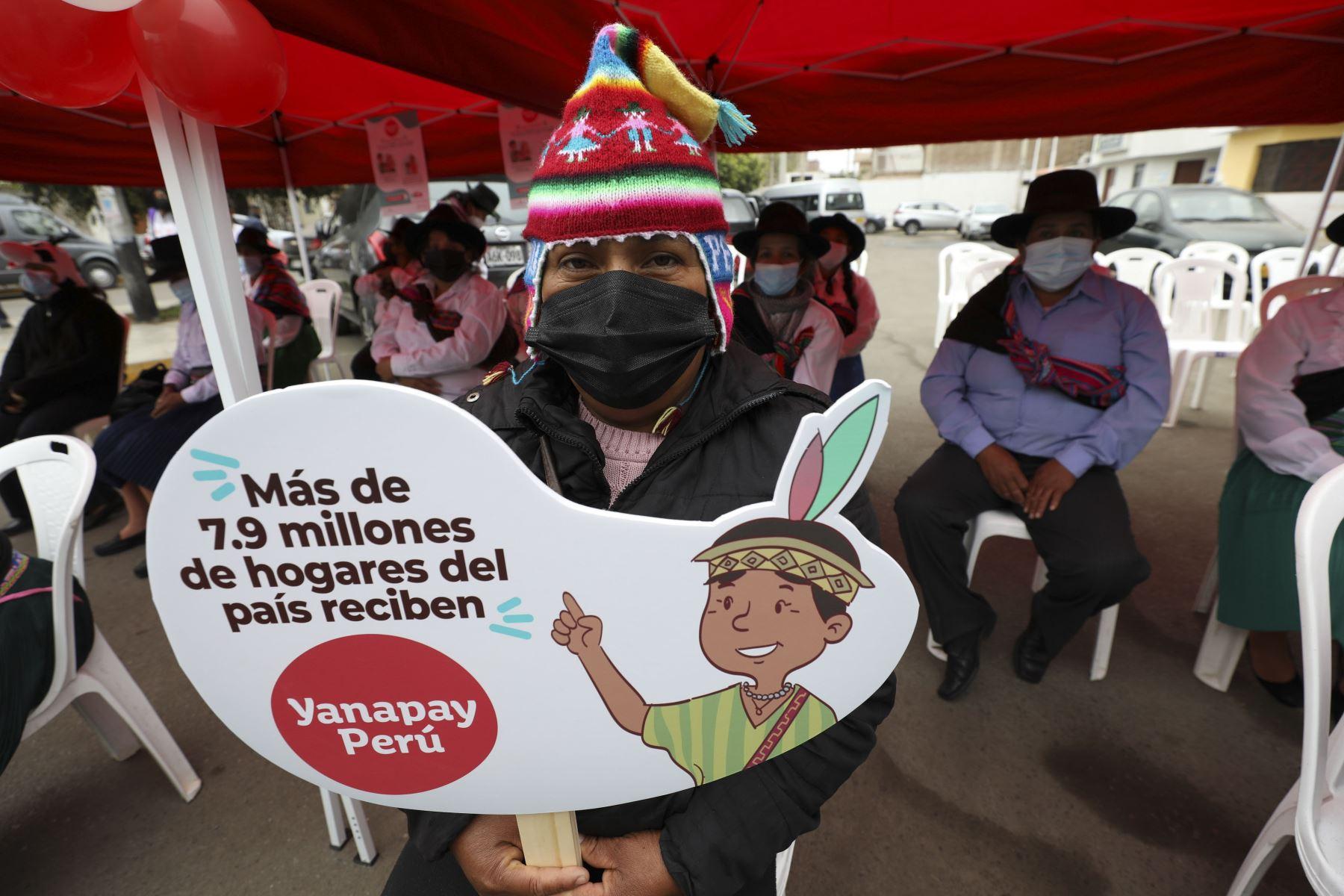 Bono Yanapay: desde este 5 de octubre segundo grupo de beneficiarios podrá cobrar subsidio