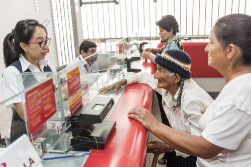 Banco de la Nación amplía horario de atención para facilitar pago del Bono Yanapay Perú (imagen referencial). Foto: Banco de la Nación/Difusión.